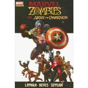 Marvel Zombies vs. Army of Darkness First 1st Print Hardcover Graphic Novel HC